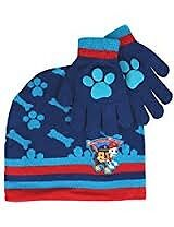 Paw patrol hats and gloves