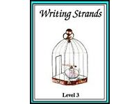 Writing Strands Level 3, 4, 5 and Evaluating Writing (4 books)