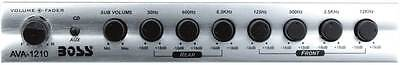 Boss Audio Ava1210 7-band & Preamp Equalizer