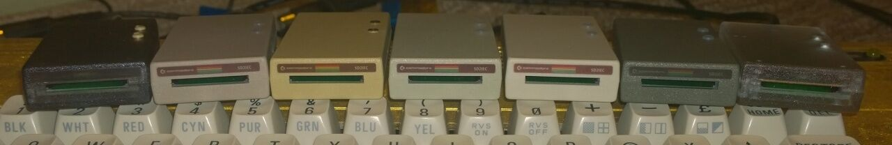  C64c Cream SD2IEC Commodore 1541 Disk Drive Emula…