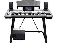 Tyros 1 Yamaha keyboard, full set up