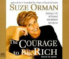 Book for sale: The Courage to Be Rich --- Suze Orman