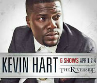 KEVIN HART. 3RD. 6TH. ROW.  BEST QUALITY PLATINUM  FLOORS&REDS