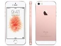 IPhone SE Rose Gold 16GB On O2