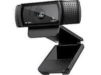 C920 Logitech HD Pro Webcam