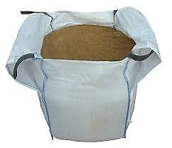 Washed Concrete Sand (Sharp Sand) in Bulk bags or 25kgs bags