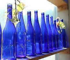 Wanted: Wanted blue and green coloured bottles