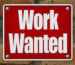 Will work for cash