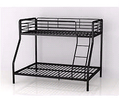 Looking for  black bunk bed
