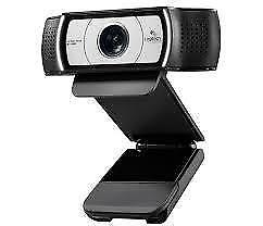 Logitech Pro webcam , with ultra wide angle vision   brand new sealed.