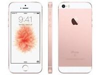 IPhone SE Rose Gold 16GB With Warranty