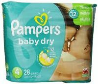 112 Pampers baby dry size 4