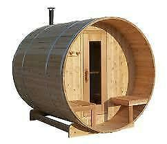 INDOOR AND OUTDOOR SAUNAS. MADE IN CANADA WITH REAL Peterborough Peterborough Area image 1