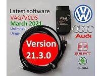 ✔️ Diagnostics 2021✔️ vag cars ✔️obd2 cable ✔️ coding ✔️Activation