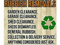 Waste/rubbish removal & gardening tidy up 07446258964
