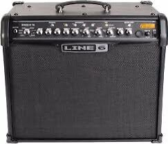 Line 6 iv 75 watt with mkii pedal
