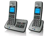 BT 2000 TWIN Cordless Phones with Answering Machine