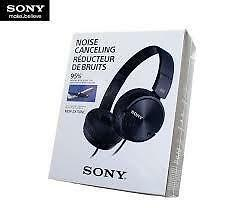 Sony MDR ZX110NC On-Ear Noise Cancelling Headphones (Black)