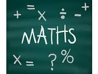 Maths Tutor available weekend/weekday up to GCSE level.