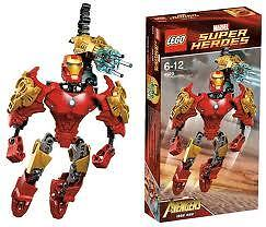 LEGO DC Universe Super heroes 4529 Iron Man NEW MISB Batman