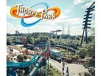 1 Thorpe Park Ticket (September)