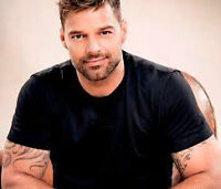 RICKY MARTIN - GENERAL ADMISSION PIT TICKETS-BELL CENTRE- OCT 14