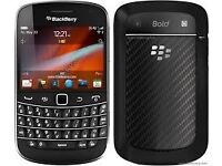 Blackberry Bold 9900 Black (Unlocked) in good condition