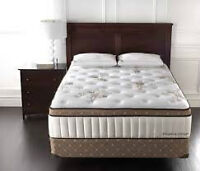 Brand New... Sterns & Foster Leamington, queen mattress and boxs