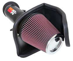 K&N Cold Air Charger Challenger Hellcat 2015-2016 SRT +40hp