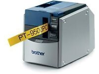 Brother P-Touch 9500 Label Printer with tapes