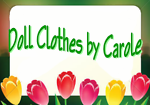 Doll Clothes by Carole