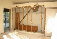 experienced removal of unwanted walls and debris