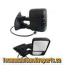 Towing mirrors trailer tow mirrors for Ford F250 F350 F450 1999 - 2007