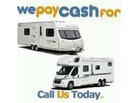 ☎☎i am looking for a touring caravan or motorhome