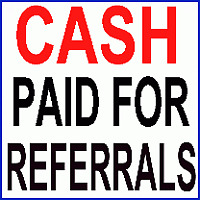 CASH Paid For Referrals!
