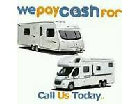 🚩WE PAY CASH 4 YOUR OLD CARAVAN OR MOTORHOME
