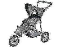 Brand New Mamas and Papas doll 3 Wheel Stroller ( Junior Collection)