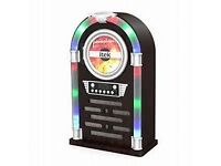 Itek Bluetooth juke box station with cd player and radio