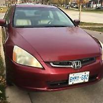 Honda Accord Ex. Certified!!!