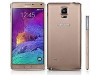 brand new Samsung Note 4 come with free case+glass protector