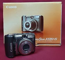 Canon A590IS PowerShot Digital Camera