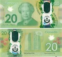 New Canadian $20 banknote