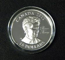 2011 Canada $15 Sterling Silver Coin - Prince Harry.