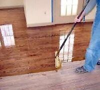 Floor Refinishing! Make your floors look new again/free quote