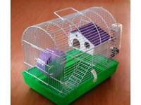 Hamster cage due to increase in cage size only used for 1 week excellent condition