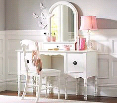 ISO bedroom Vanity girl's room