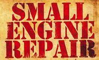 Réparation de petits moteurs// small engine repair