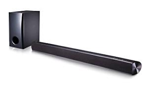 LG soundbar with sub