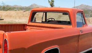 Rear Window 61-71 Dodge Pickup