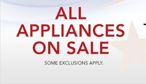 """This """"FRIDAY"""" 9am to 6pm   """"End of the YEAR""""   USED APPLIANCE  SALE ;  @  9267 - 50 St"""